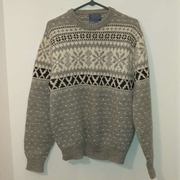 Pendleton Sweaters Wool Sweater Made In Usa Size L Poshmark